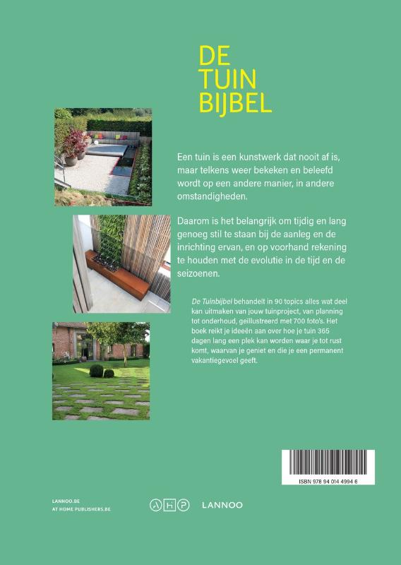 At Home Publishers,De tuinbijbel