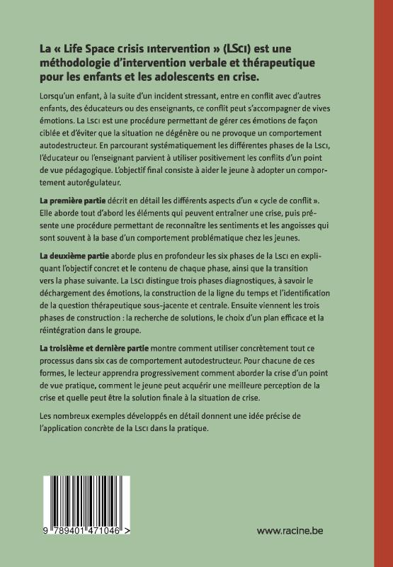 N.J. Long, M.M. Wood, F.A. Fecser,Dialogue avec des enfants et des adolescents en situation de crise