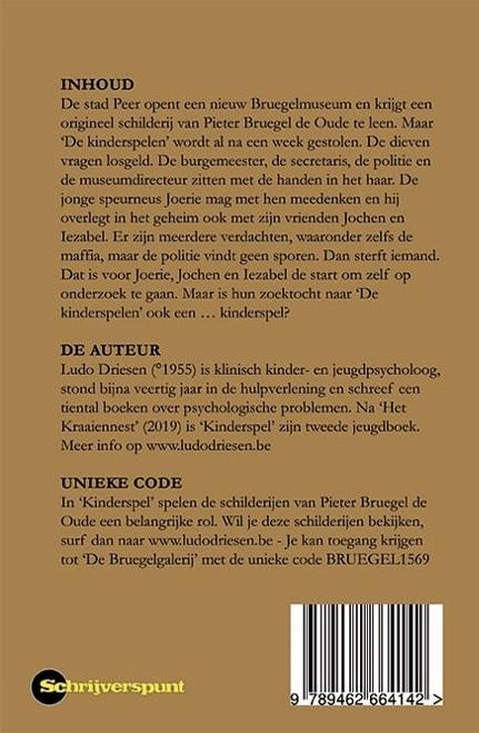 Ludo Driesen,Kinderspel