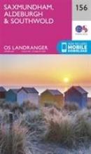 Ordnance Survey Saxmundham, Aldeburgh & Southwold