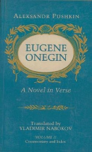 Pushkin, Aleksandr Serge Eugene Onegin - A Novel in Verse: Commentary