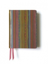 Pink & Green Stripes. (Contemporary Foiled Journal)