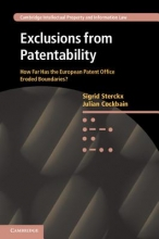 Sterckx, Sigrid Exclusions from Patentability