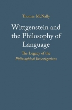 McNally, Thomas Wittgenstein and the Philosophy of Language