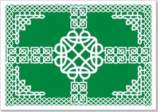 Celtic Laser Cut Note Cards