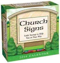 Church Signs 2019 Calendar