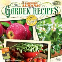 Browntrout Publishers, Inc Farmers` Almanac Garden Recipes 2017 Square