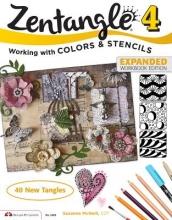 McNeill, Suzanne Zentangle 4, Expanded Workbook Edition