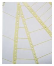 , Etiket Avery Zweckform T1814 89x36.1mm 1-baans wit 4000stuks