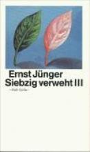 Jünger, Ernst Siebzig verweht III