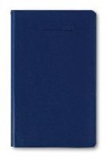 Taschenplaner Leporello 2017 PVC blau