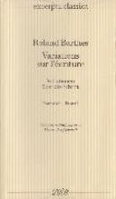 Barthes, Roland Variations sur l`écriture Variationen über die Schrift