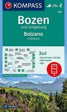 , Bozen und Umgebung, Bolzano e dintorni 1:25 000