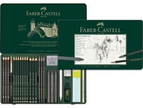 grafietset Faber Castell Pitt 26-delig
