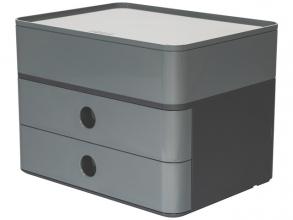 , Smart-box plus Han Allison 2 lades en box graniet grijs