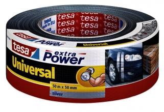 , Plakband Tesa 50mmx50m extra power grijs