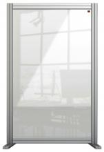 , Bureauscherm Nobo Modulair transparant acryl 600x1000mm