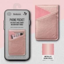 , Bookaroo Phone Pocket - Rose Gold