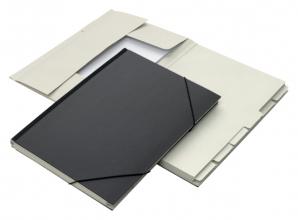 , Combinatiemap Jalema folio 12 vakken 240gr zwart