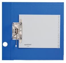 , Ordneralfabet Quantore 2-gaats 18x23 PP grijs