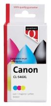 , Inktcartridge Quantore Canon CL-546XL kleur