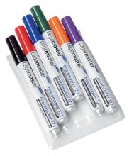 , Viltstift Legamaster TZ1 whiteboard rond assorti 1.5-3mm 6st