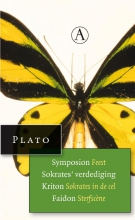 Plato Symposion, Feest, Sokrates` verdediging, Kriton, Socrates in de cel, Faidon, Sterfscene