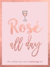 Peggy Jones , Rosé all day - cadeauboek