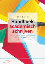Joy de Jong , Handboek academisch schrijven