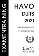 Mj Rozemond Mt Janssens, Examentraining Havo Duits 2021