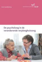Pieter van Drunen De psycholoog in de veranderende verpleeghuiszorg