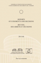 , Reports of judgments and decisions/recueil des arrêts et décisions 2013-IV