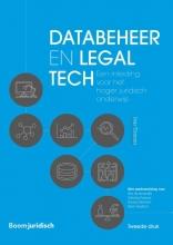 I. Timmer , Databeheer en legal tech
