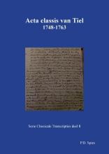 P.D.  Spies Acta classis van Tiel 1748-1763