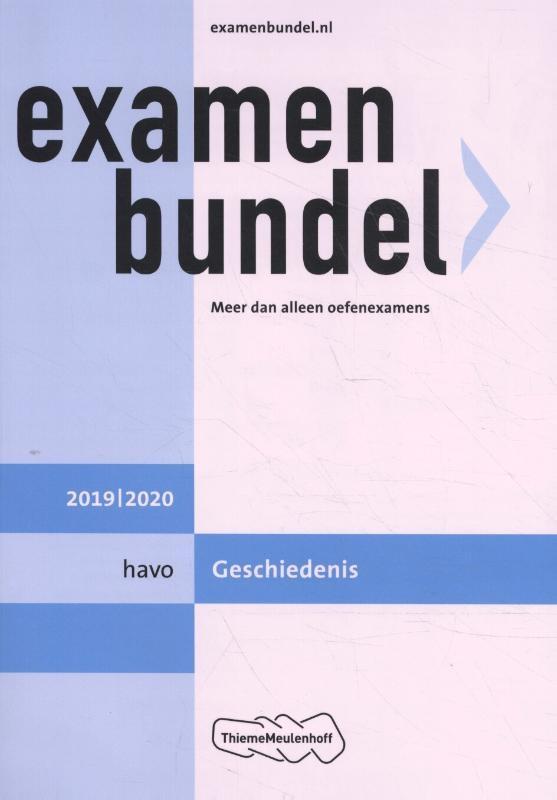 M.M.P.C  Bolink,Examenbundel havo Geschiedenis 2019/2020