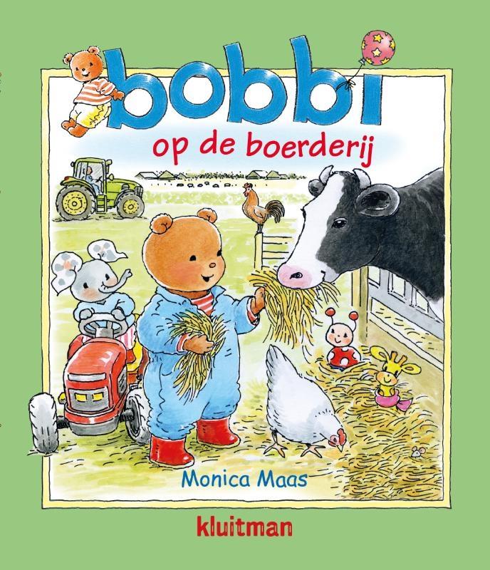 Monica Maas,Bobbi op de boerderij