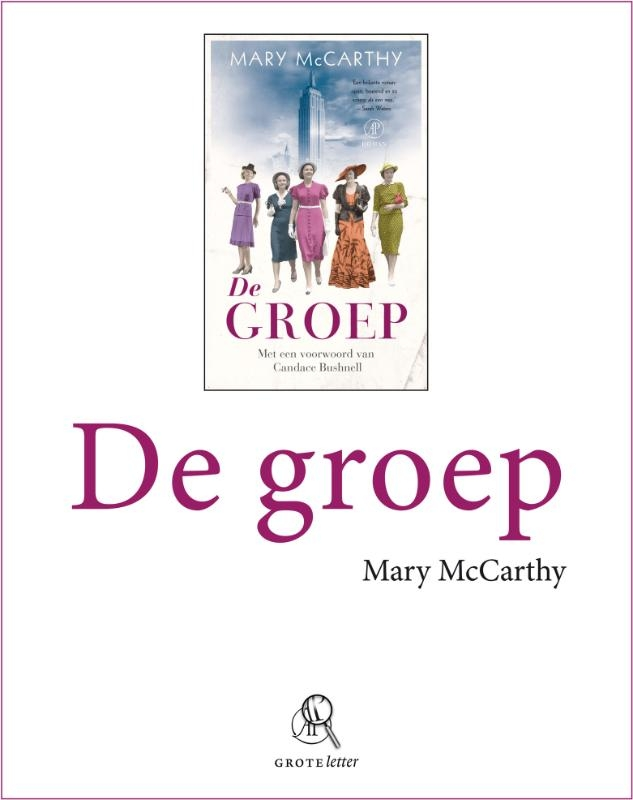 Mary McCarthy,De groep (grote letter)