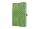 ,notitieboek Sigel Jolie Flair A5 hardcover gelinieerd groen