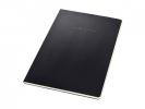 ,Schrijfblok Sigel CONCEPTUM softcover A4 zwart geruit