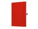 ,notitieboek Sigel Conceptum softcover A4 rood gelinieerd