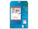 ,inkjetpapier Sigel A4 160grs pak a 25 vel speciale coating  hoogwit