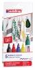 ,<b>Viltstift edding 4500 textiel rond 2-3mm basis assorti</b>