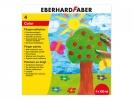 ,vingerverf Eberhard Faber 100ml geel, rood, blauw, groen