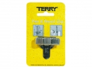 ,<b>Terry clip tbv 3 pen/potlood</b>