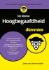 <b>Janet van Horssen-Sollie</b>,De kleine Hoogbegaafdheid voor Dummies