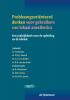 Probleemgeoriënteerd denken voor gebruikers van lokaal anesthetica,een praktijkboek voor de opleiding en de kliniek