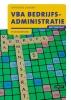<b>A.  Lammers</b>,VBA Bedrijfsadministratie met resultaat Theorieboek