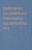 ,Jaarboek van het Nederlands Genootschap van bibliofielen 2014; XXII