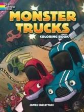 Cassettari, James Monster Trucks Coloring Book