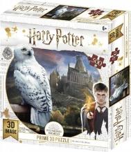 , 3d image puzzel - harry potter hedwig- tuckers-  500 stuks -61x46 cm
